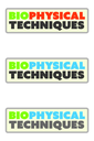 Biophysical Techniques Lecture Series 2020 logo