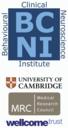 Behavioural and Clincial Neuroscience Seminars logo