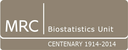 Medical Research Council Biostatistics Unit Centenary celebratory events logo