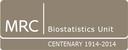 MRC Biostatistics Unit Centenary Events logo