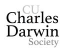 CU Charles Darwin Society logo