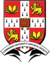 Cambridge University Linguistic Society (LingSoc) logo