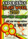 EIW 2010 - Experience Islam Week (14th - 21st February 2010) logo