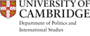 Department of Politics and International Studies Research Seminar Series logo