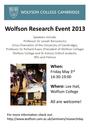 Wolfson Research Event logo