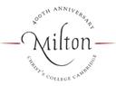 Milton 400th Anniversary Lectures logo