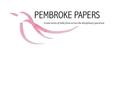 Pembroke Papers, Pembroke College logo